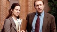 """Heulen und Zähneklappern: Laura Linney und Kevin Spacey in """"David Gale"""""""