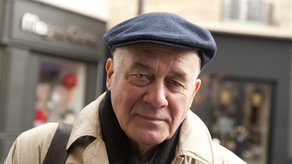 Der Romanautor und Schauspieler Hanns Zischler.
