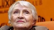 Schriftstellerin Anne Golon in Prag (Archivfoto von 2007)