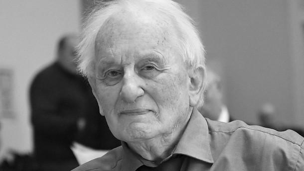 Dramatiker und Schriftsteller Rolf Hochhuth ist tot