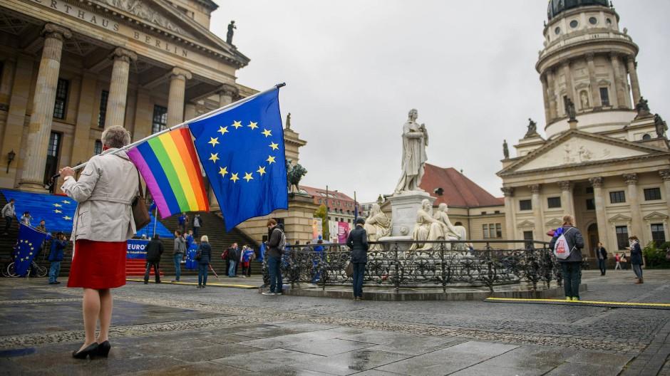 """Dominiert derzeit eine """"falsche"""" Idee von Europa? Die """"Pariser Erklärung"""" skizziert den Gegenentwurf eines """"wahren Europas""""."""