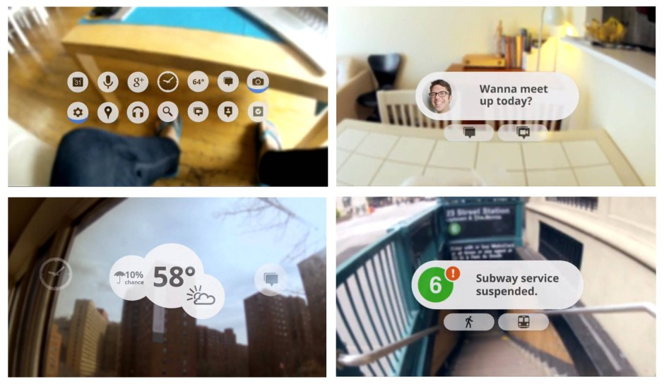 Optik der Zukunft? Aus dem Werbevideo für Google Glass