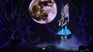 """Jamie-Lee bei ihrem Auftritt mit """"Ghost"""" beim großen Finale"""