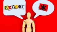 Umfrage von Infratest Dimap: Die Bürger wollen keine Gendersprache