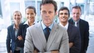 """""""Teamarbeit macht Träume wahr"""": Vince Vaughn (mitte), Dave Franco (2. von rechts) und Tom Wilkinson (rechts)"""