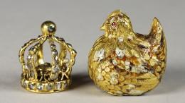 Die Krone in der Henne im Ei