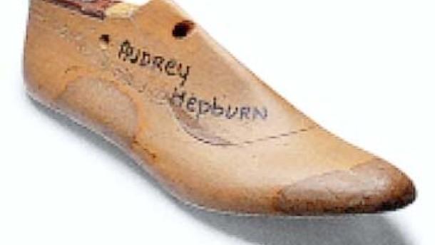 Audreys Schuhe: Am liebsten in hellgrünem Kid-Leder