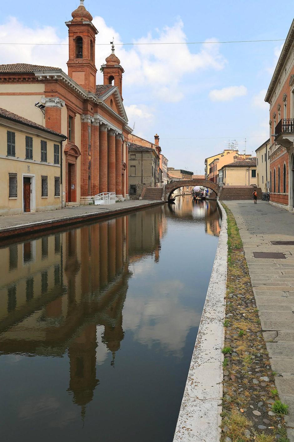 Etwa 180 Kilometer fahrbarer Kanäle und Flüsse gibt es in der Provinz Ferrara – theoretisch!