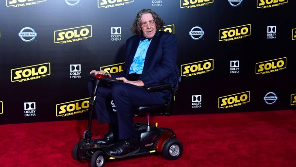"""Peter Mayhew war eine echte Legende"""
