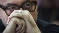 Kirill Serebrennikow wartet im Februar auf den Beginn seiner Gerichtsverhandlung.