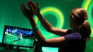 """Mit Körperbewegungen und Gesten zu steuern ist in der Unterhaltungsindustrie bereits möglich: die neuen Xbox """"kintec"""""""