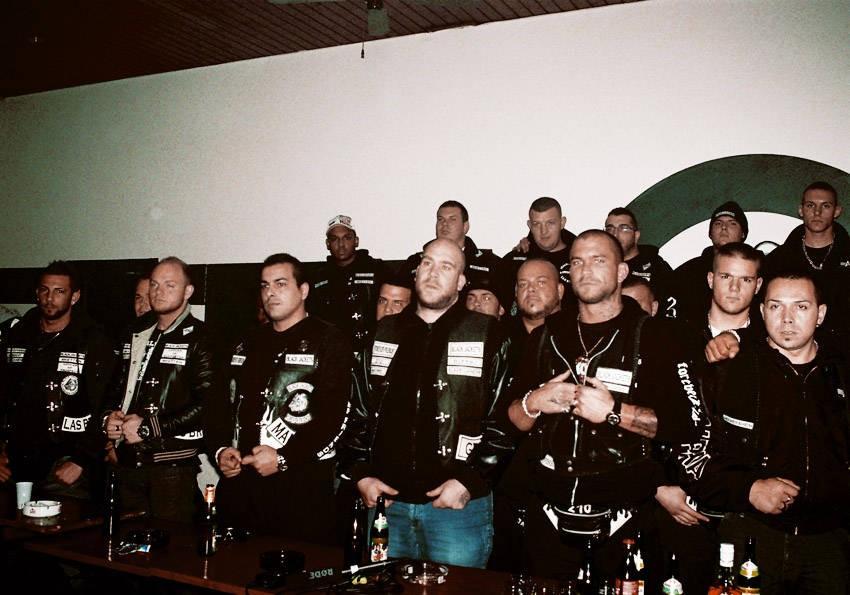 Rocker unter sich: Einige, aber nicht alle sind nicht nur wegen der Brüderlichkeit zu den Black Jackets gestoßen
