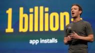 Facebook-Chef Mark Zuckerberg bei einer Präsentation in San Francisco. Das Netzwerk ermöglicht Werbekunden mit einem neuen Tool die Analyse von Nutzerdaten.