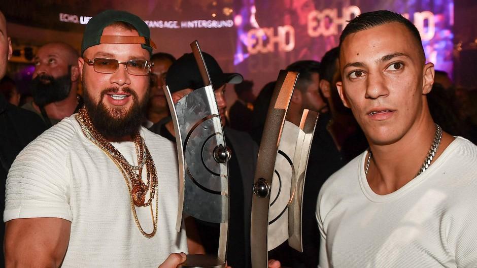 Ausdefiniert? Die Rapper Kollegah und Farid Bang bei der Echo-Verleihung