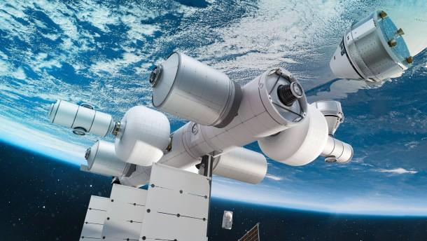 Jeff Bezos baut jetzt eine private Raumstation