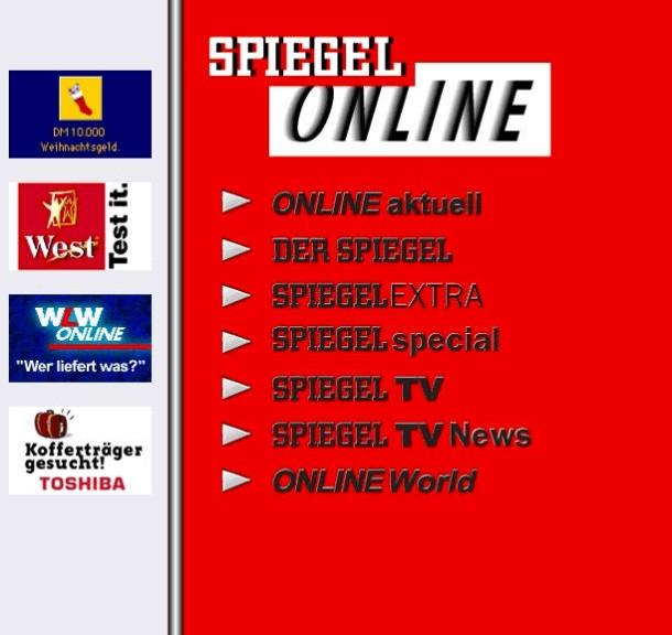 Bilderstrecke zu 20 jahre online journalismus bild 3 for Spiegel aktuell