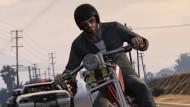 """Nichts für die zarte Akademikerseele: Harte Jungs auf schweren Stühlen in dem Spieleklassiker """"Grand Theft Auto"""""""