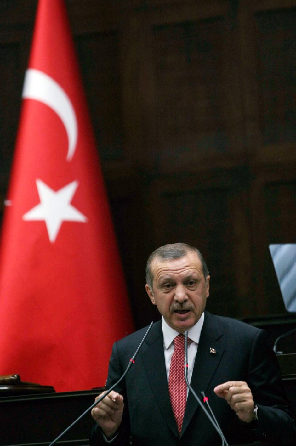Der Staatsmann Erdogan.