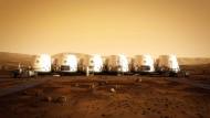 Einmal zum Mars – und nie mehr zurück