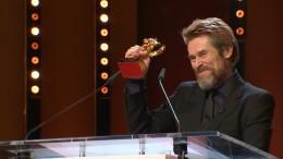 Goldener Ehrenbär für Willem Dafoe