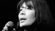 Juliette Gréco 1968 in Paris