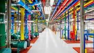 Hier wird die Welt geordnet: im Google-Datencenter