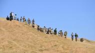 Ein Volk mit wenigen Freunden: Kurden, die sich auf den Einmarsch des IS vorbereiten