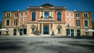 Das Richard-Wagner-Festspielhaus in Bayreuth