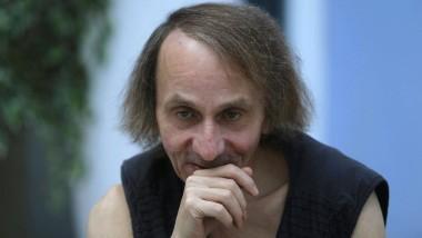 Inszeniert sein eigenes Verschwinden: Michel Houellebeqc, hier bei der Präsentation des Films in Madrid