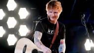 Nach seiner Ruhepause stand Ed Sheeran bei den Grammys im Februar wieder auf der Bühne.