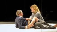 Theaterpremiere an der Berliner Schaubühne mit Caroline Peters