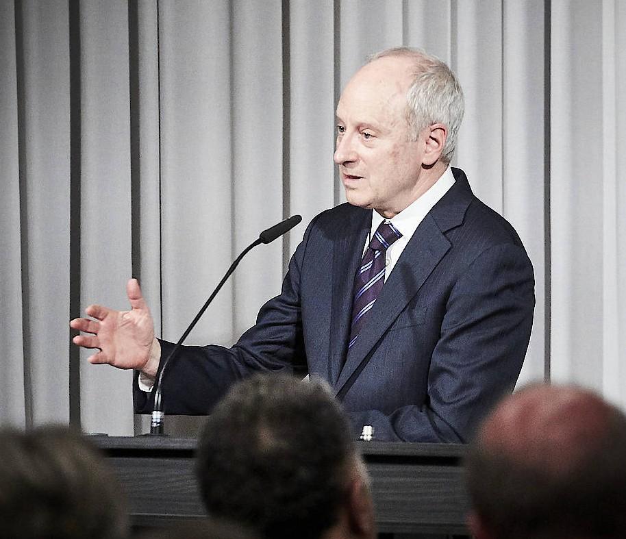 Michael Sandel am Dienstag in Berlin