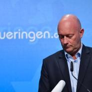 FDP-Politiker Thomas Kemmerich in der Thüringischen Staatskanzlei