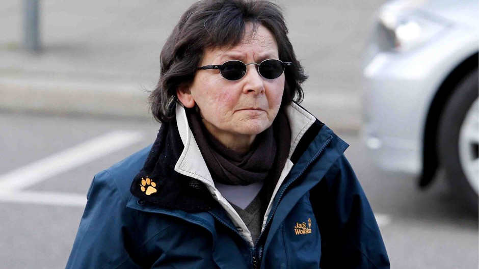 Physiognomisch schwer einzuordnen: Verena Becker