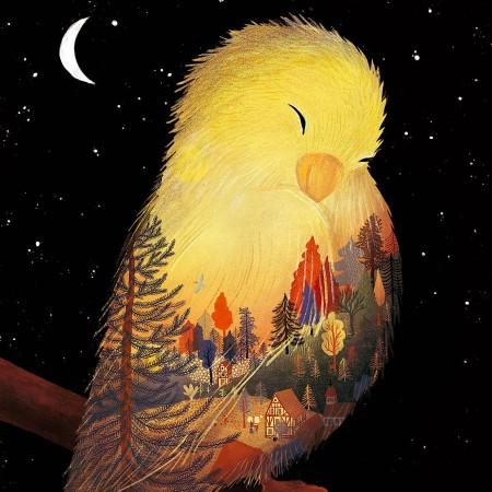 """Wovon träumt ein Kanarienvogel? Das Bilderbuch """"189"""" kennt die Antwort."""