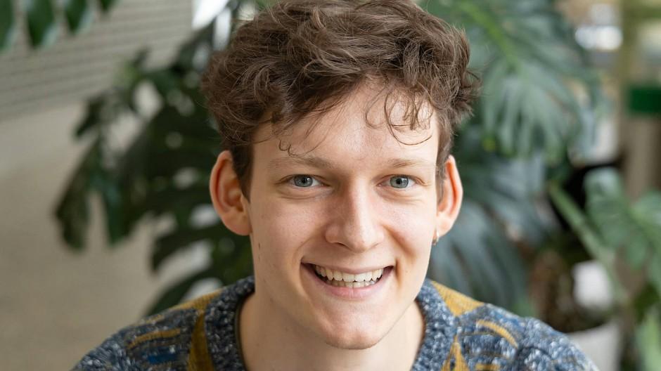 Jakob Boyny, 22 Jahre, studiert an der Hochschule für Musik und Darstellende Kunst in Frankfurt im vierten Semester Lehramt für Gymnasien.
