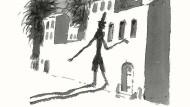 Ein Schatten macht sich selbständig