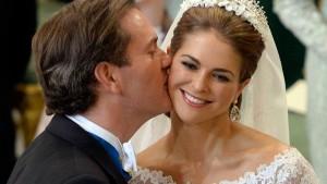 Prinzessin Madeleine und Chris O'Neill haben geheiratet