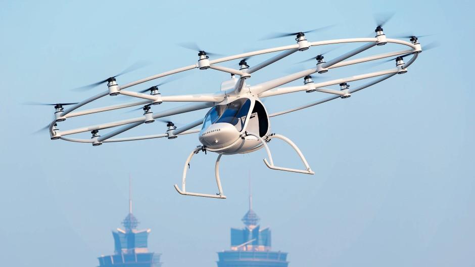 Zukunftstechnologie Flugtaxi: Am Stau am Boden ändern sie nichts