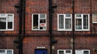 Gentrifizierung macht auch vor der Guscott Street nicht halt: Straßenszene in England