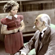 """Die kindliche Sorge ist nicht allein ein Phänomen unserer Zeit: Shirley Temple und Claude Gillingwater im Jahr 1938 im Spielfilm """"Just Around the Corner""""."""