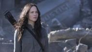 Eine hat den Bogen raus: Jennifer Lawrence macht auch zwischen Ruinen eine gute Figur.
