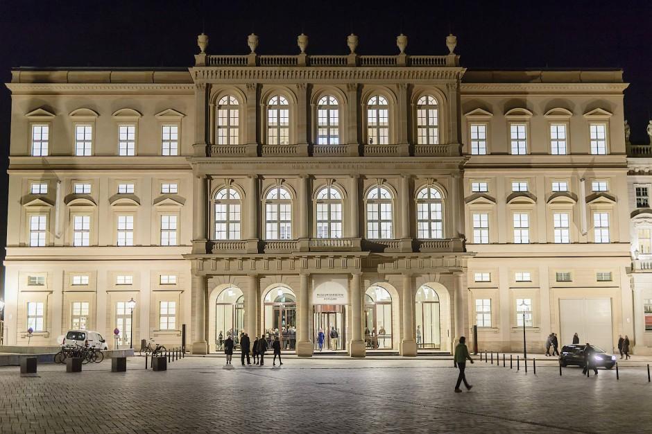 So neu und abwaschbar, als würde man es gleich wieder abbauen wollen: Das Museum Barberini.