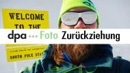 Extremsportler Szwed manipulierte Südpol-Fotos