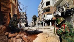 Damaskus wird brennen