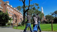 Die amerikanischen Colleges, hier eines in New York, sollten als Vorbild für deutsche Hochschulen dienen, findet der Präsident der Uni Hamburg.