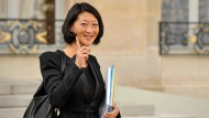 Wird sie zur Jeanne d'Arc im Konflikt mit Google? Fleur Pellerin, Frankreichs Ministerin für digitale Ökonomie gibt sich kämperisch.