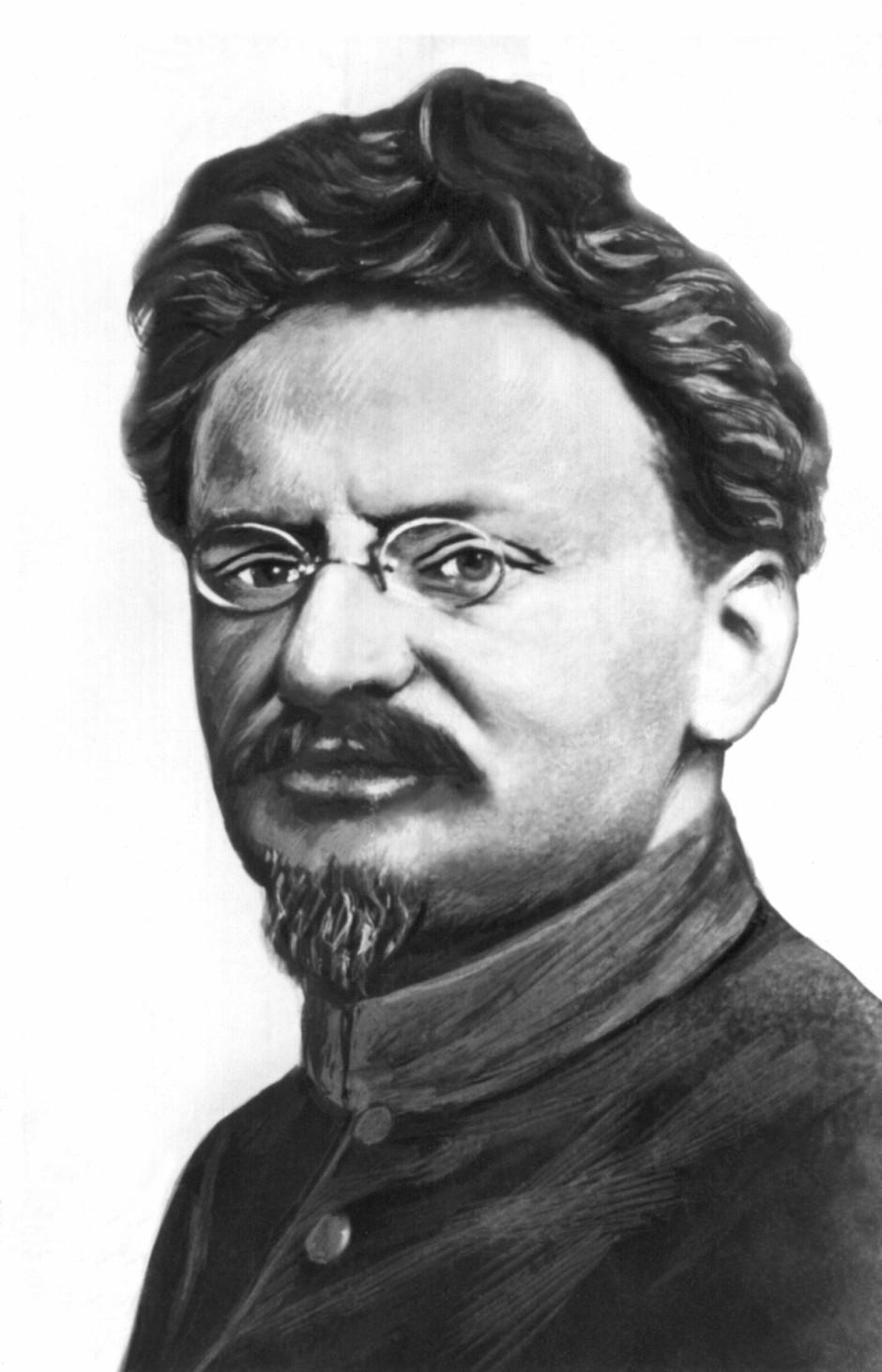 Bild Zu Chronik Einer Angekündigten Biographie Trotzki Der Gute