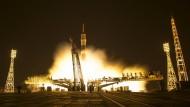 Ein letztes Ruhmesglimmen der glorreichen Sowjetunion: Sojus-Raketen starten bis heute mit unerschütterlicher Zuverlässigkeit auf dem kasachischen Weltraumbahnhof von Baikonur.