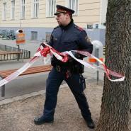 Das Absperrband kann wieder weg: Im Gymnasium Albertgasse in Wien gab es den Verdacht auf einen Infektionsfall, die Schule wurde daraufhin Ende Februar geschlossen. Jetzt kann der Unterricht weitergehen.